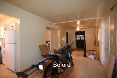 Main Frontroom Before